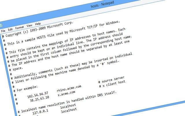 Hosts Dosyası Hatası ve Hosts Dosyasını Değiştirme